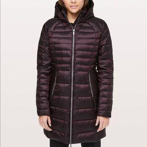 Brave The Cold Lululemon puffer jacket - size 8